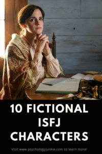 Find out which literary or movie characters have the #ISFJ personality type. #MBTI #Personality