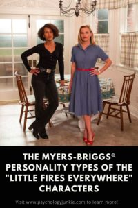 """Find out the Myers-Briggs personality types of the main characters in """"Little Fires Everywhere"""" #MBTI #Personality #INFP"""