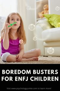 Find out how to cure the boredom blues of your #ENFJ child! #MBTI #Personality