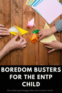 Explore some books, movies, and activities that will fascinate an #ENTP child! #MBTI #Personality