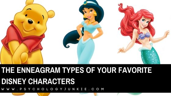 The Enneagram Types of Your Favorite Disney Characters