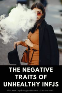 Get an in-depth look at the negative traits that INFJs struggle with. #INFJ #MBTI #Personality
