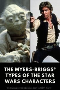 Find out which Star Wars character has your Myers-Briggs® personality type! #MBTI #Personality #INFJ #INFP