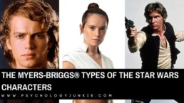 Want to find out which Star Wars character has your Myers-Briggs® personality type! #MBTI #Personality #INFJ #INTJ #ISFJ