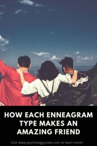 Find out what makes each enneagram type stand out as a friend! #Personality #Enneagram