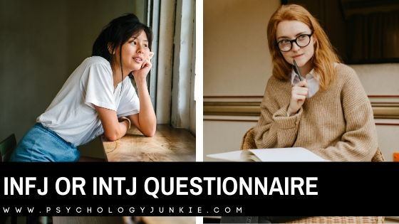 INFJ or INTJ Test