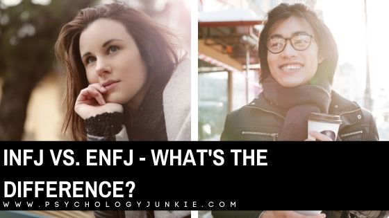 Not sure whether you're an #ENFJ or an #INFJ? Find out the differences between these two types to decide! #MBTI #Personality