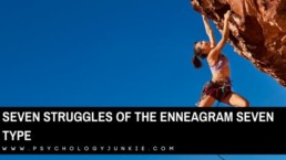 Get an in-depth look at the unique struggles of the Enneagram Seven personality type. #Enneagram #enneatype #Personality #Seven