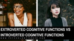 Find out how to tell the difference between introverted and extroverted cognitive functions. These functions lay the framework for the Myers-Briggs® system of typology. #MBTI #Personality #INFJ #ENFP