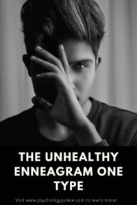 Get an in-depth look at the unhealthy behaviors of the #enneagram one type. #Personality #enneatype