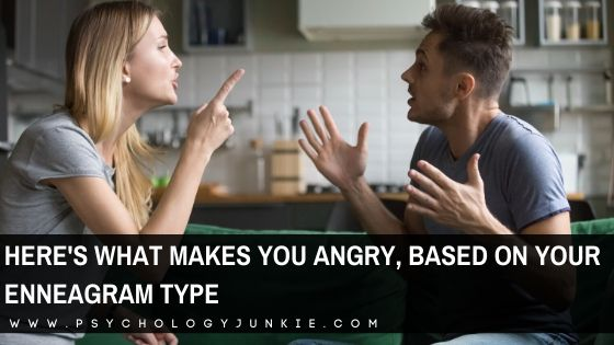 Get a close-up look at what makes each of the #enneagram types angry. #Personality
