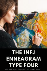 Get an in-depth look at what it's like to be an INFJ as well as a Four in the Enneagram system. #INFJ #Personality #Enneagram