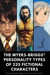 Ever wondered which fictional characters have your personality type? Take a look in this expansive list of over 300 characters! #MBTI #Personality #INFJ #INTJ