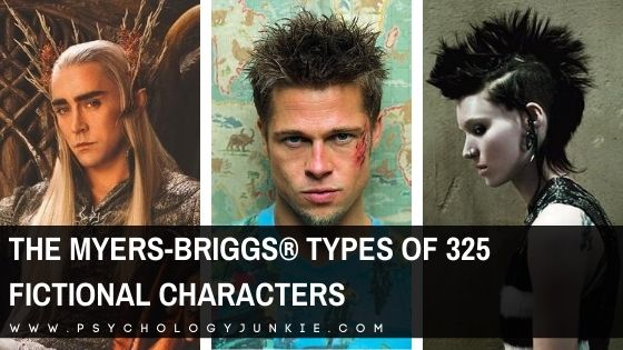 The Myers-Briggs® Personality Types of 325 Fictional Characters