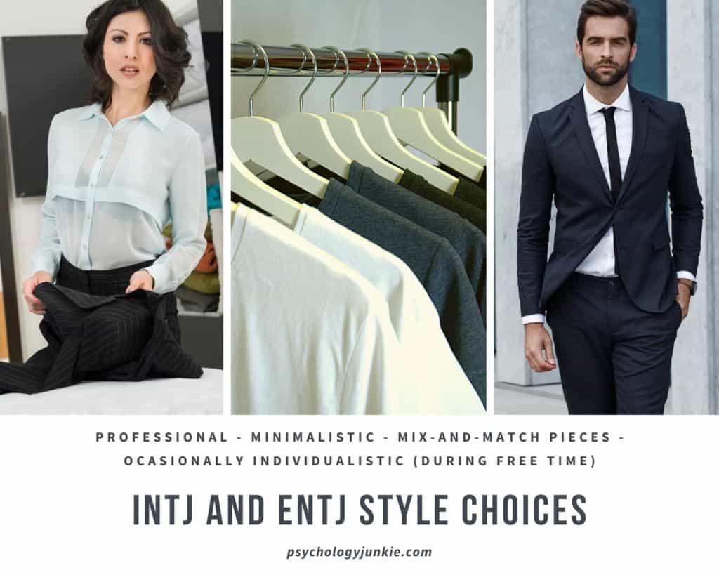 #INTJ and #ENTJ style sense