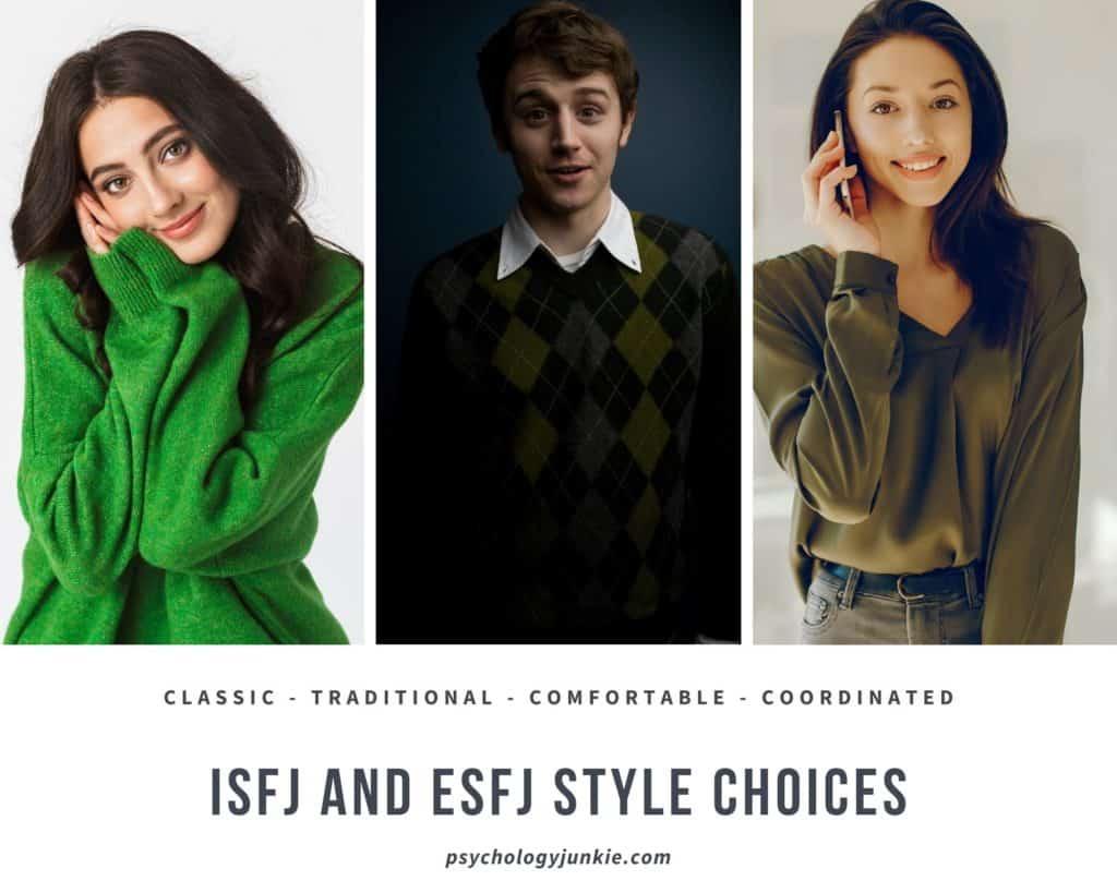 #ISFJ and #ESFJ style sense
