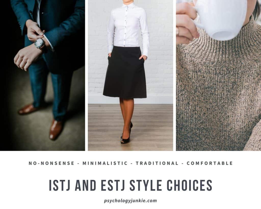 #ISTJ and #ESTJ style sense