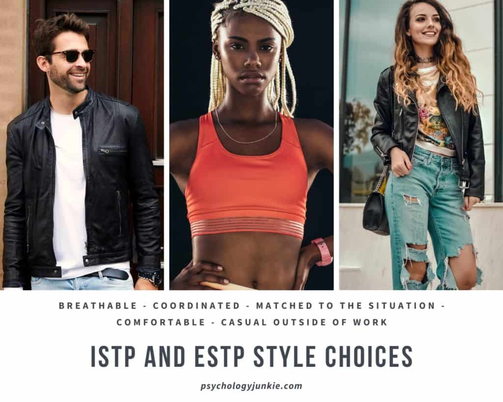#ISTP and #ESTP style