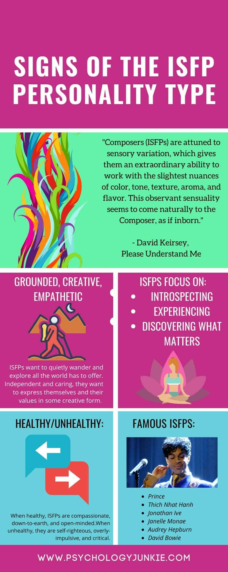 Find out what it means to be an #ISFP personality type. #MBTI #Personality