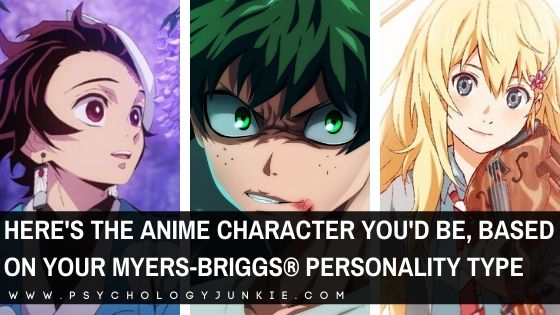 Find out which anime character best matches your Myers-Briggs® personality type. #MBTI #anime #Personality #INFJ #INFP
