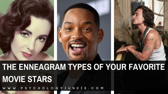The Enneagram Types of Your Favorite Movie Stars
