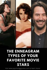 Discover which famous movie stars share the same #enneagram type as you! #Personality #Enneatype