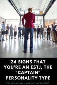 Get an in-depth look at what it's really like to be an #ESTJ personality type. #MBTI #Personality