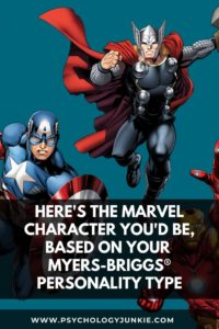 Ever wondered which Marvel character has your personality type? Take a look and find out in this article! #MBTI #Marvel #INFJ #INFP