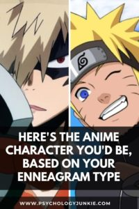 Find out which anime character has your Enneatype! #Personality #Enneagram #Anime
