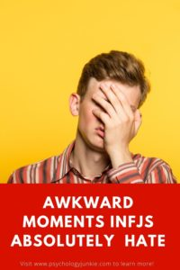 Discover the twelve situations that make INFJs cringe so hard. #INFJ #MBTI #Personality