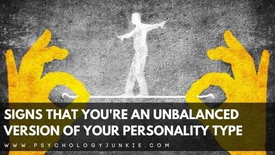 Not sure whether you're a healthy version of your personality type? This article can tell you what warning signs to look for that signal that you're moving in an unhealthy direction. #MBTI #Personality #INFJ