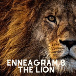 enneagram 8 lion