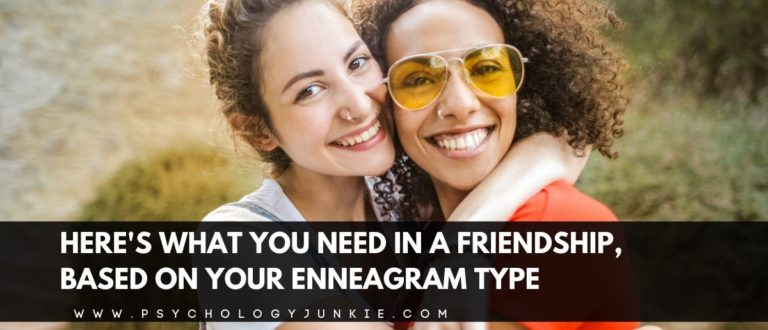 Here's What You Need in a Friendship, Based On Your Enneagram Type