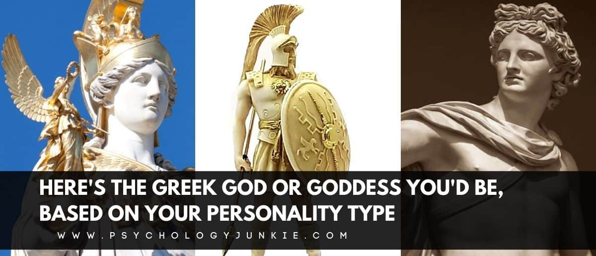 Discover which Greek god or goddess has your Myers-Briggs personality type. #MBTI #Personality #INFJ #INFP