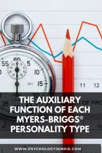 Get an in-depth look at the auxiliary function of each Myers-Briggs® personality type. #MBTI #Personality #INFJ #INFP