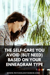 Discover the self-care practice that will powerfully improve your life, based on your #Enneagram type. #Personality #Enneatype