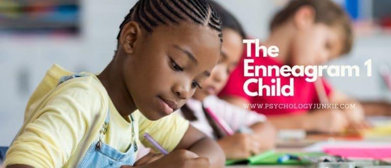 The Enneagram 1 Child