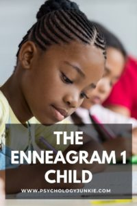 Get an in-depth look at the Enneagram One type in childhood. #Personality #Enneagram