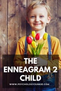 Get an in-depth look at what it's like to be an Enneagram 2 child! #Personality #Enneagram