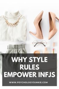 """Find out the specific style """"rules"""" that help INFJs to discover their unique personal style. #MBTI #Personality"""