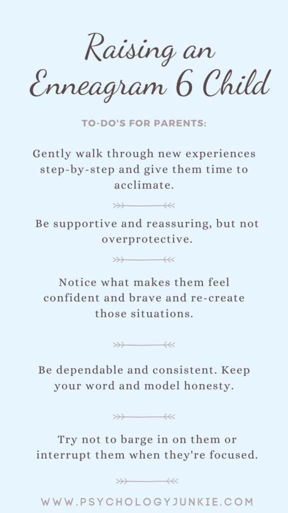 Tips for raising an Enneagram 6 type child! #Personality #Enneagram