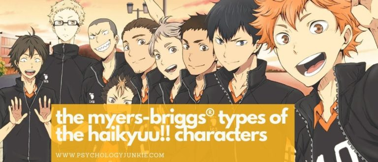 The Myers-Briggs® Types of the Haikyuu!! Characters