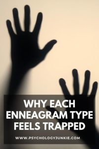 Find out why each of the Enneagram types feels trapped, stuck, or misunderstood. #Enneagram #Personality