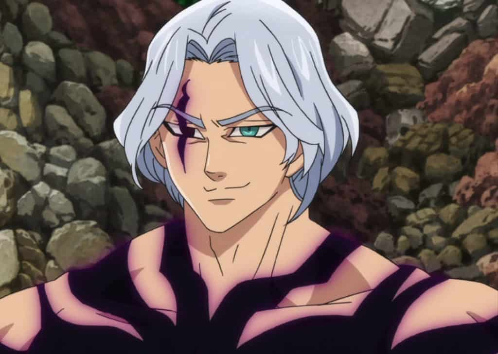 Hendrickson, an INTJ character from the Seven Deadly Sins