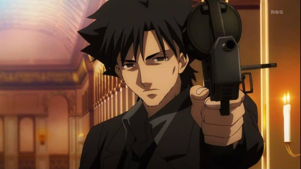 Kiritsugu Emiya, an ISTP anime character