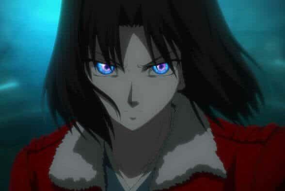 Shiki Ryougi, an ISTP anime character