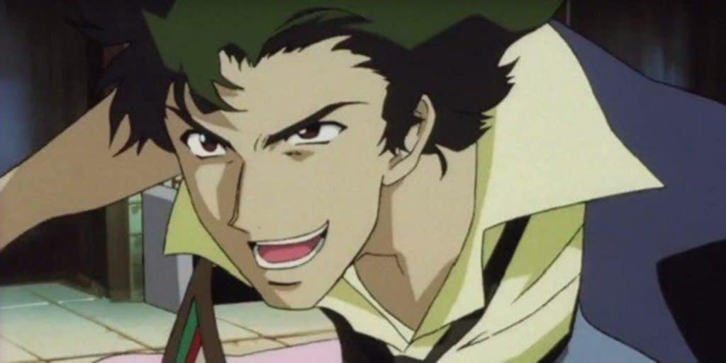 Spike from Cowboy Bebop, an ISTP anime character