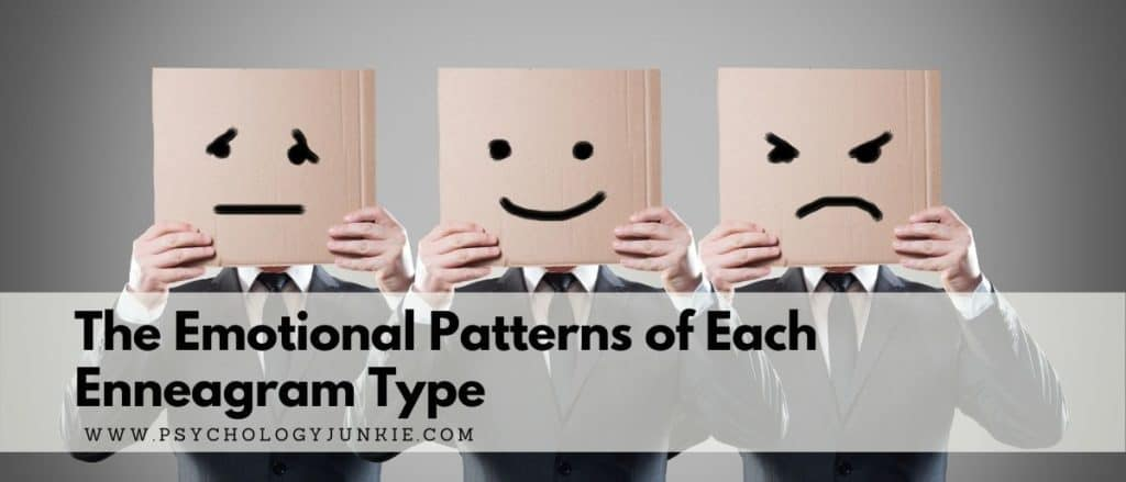 Get a look at the emotional energies and patterns of each Enneagram type. #Personality #Enneagram