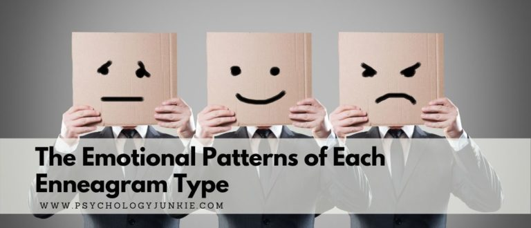The Emotional Patterns of Each Enneagram Type