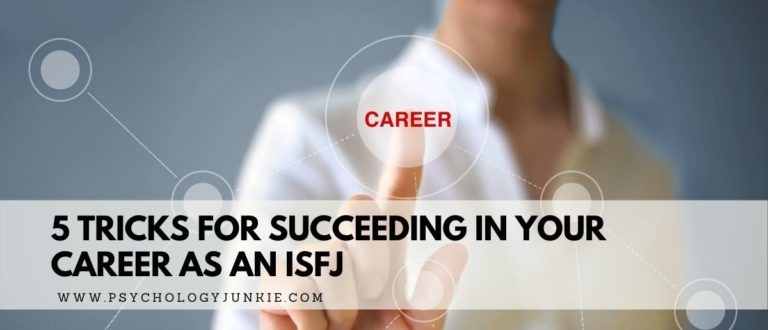 5 Tricks for Succeeding in Your Career as an ISFJ